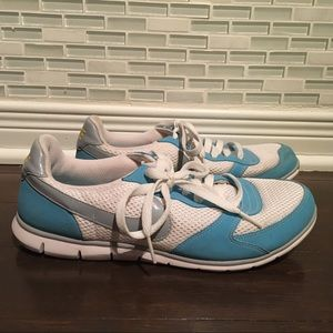 Nike Eclipse Natural Motion Sneakers White Blue